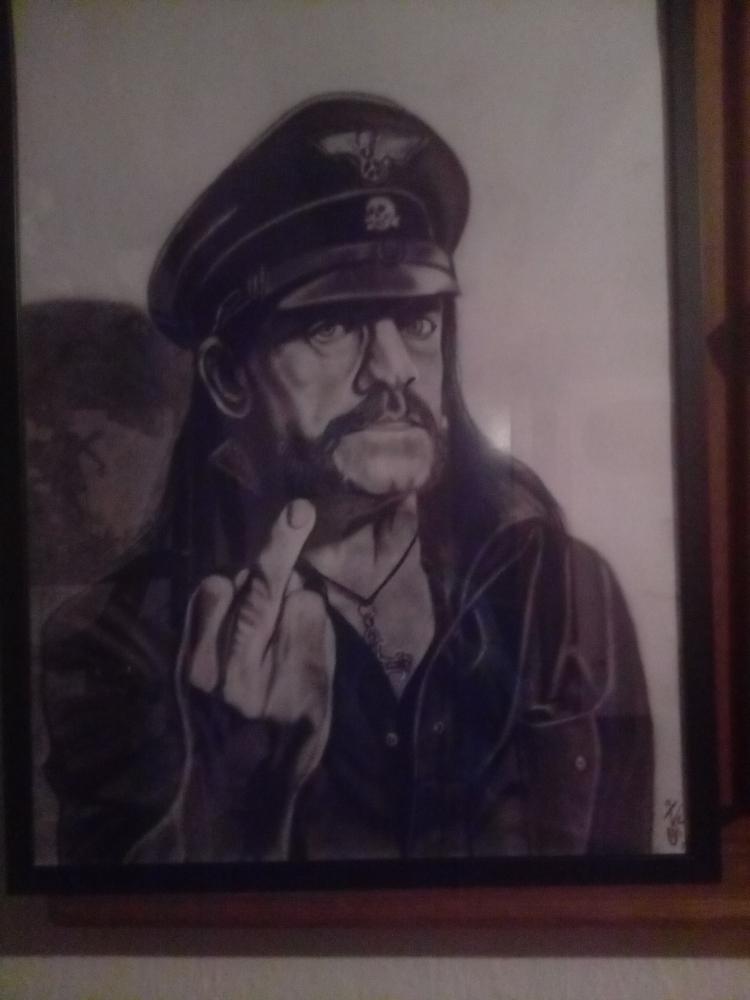 Lemmy Kilmister par KituC